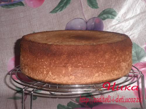 бисквит для торта, рецепты бисквитов