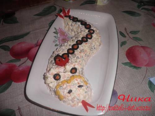праздничные блюда на 2013 год