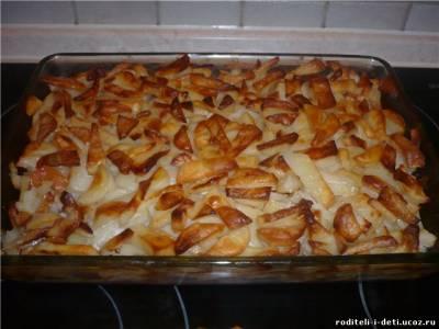 картофельная запеканка, картошка по-французски, запеканки из картофеля