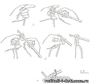 Пошаговое вязание крючком по схеме 48